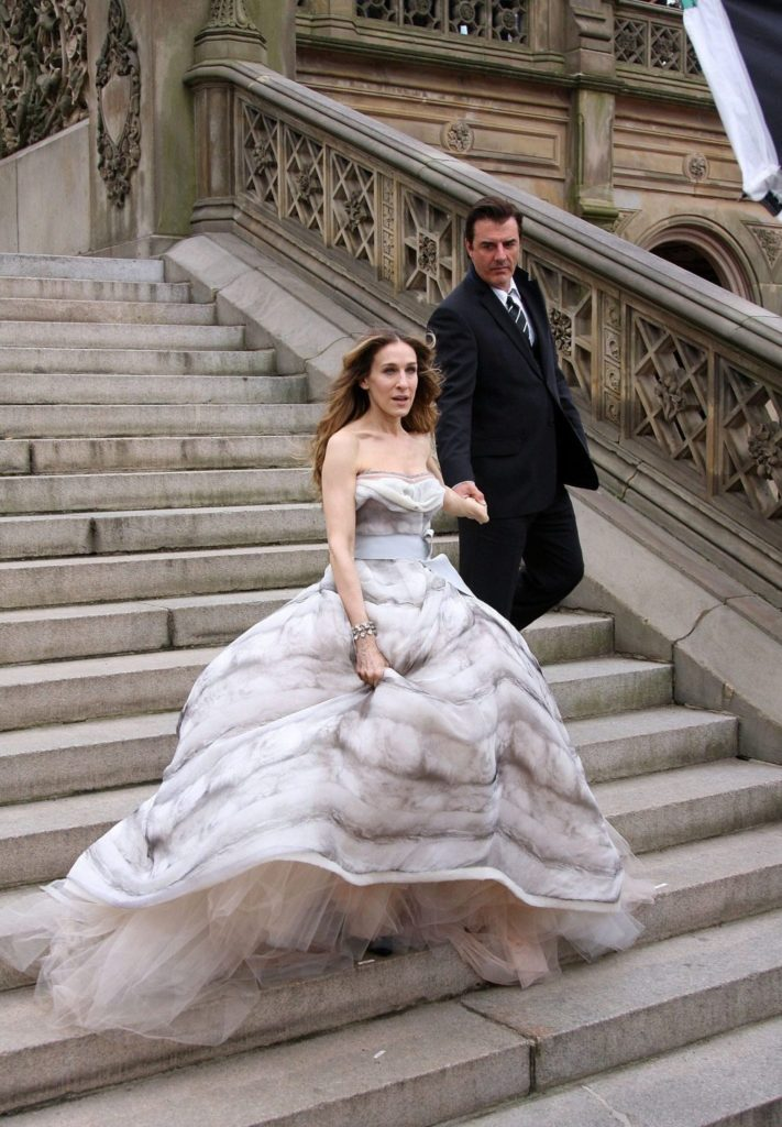 Carrie Bradshaw gown