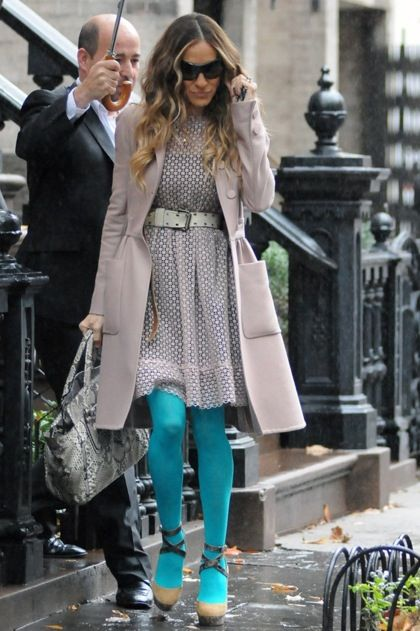 Carrie Bradshaw tights