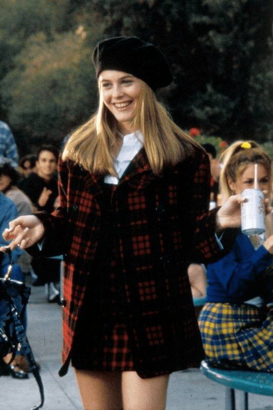 clueless Cher plaid outfit