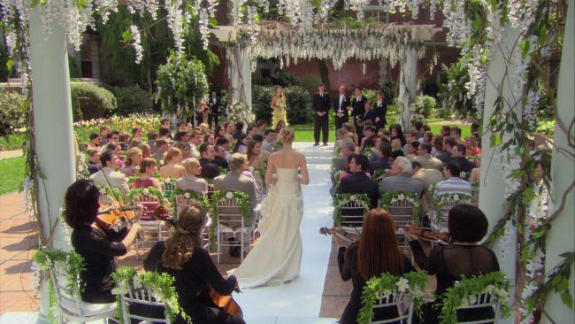 lily and bart bass wedding