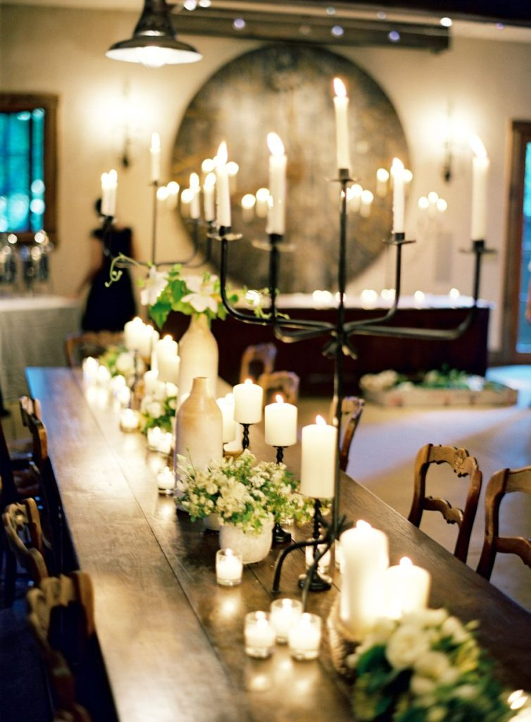 Dramatic Fall Tablescapes