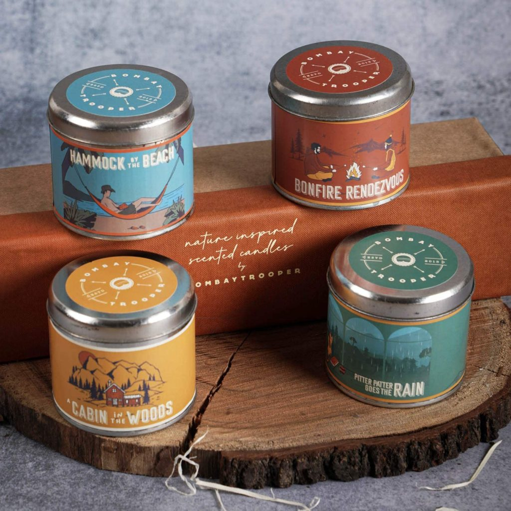 Scented Candles for Christmas gifts